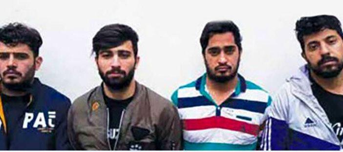 پلیس تهران کمک خواست : این ۴ جوان تبهکار در عکس را می شناسید ؟