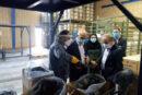 بازدید عضو هیات عامل بانک صنعت ومعدن ازواحدهای تولیدی استان سمنان
