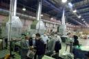 بازدیدعضوهیات عامل بانک صنعت ومعدن ازچندواحدصنعتی دراستان اصفهان