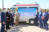 اهدای یک دستگاه آمبولانس توسط بانک رفاه کارگران به دانشگاه جیرفت