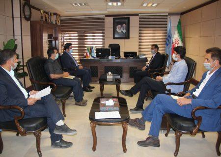 نشست مشترک شعبه یزد با بانک رفاه