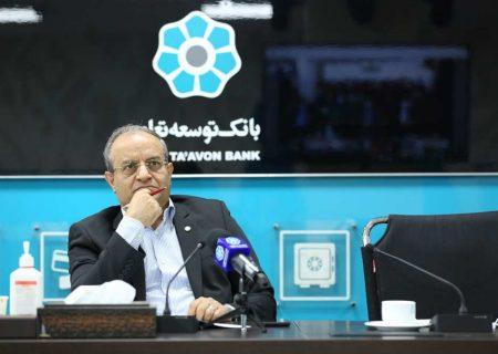 مدیر عامل در مراسم آغاز به کار ۱۲۰ نیروی جدیدالاستخدام: ارتقای جایگاه بانک توسعه تعاون از شعبه شروع می شود