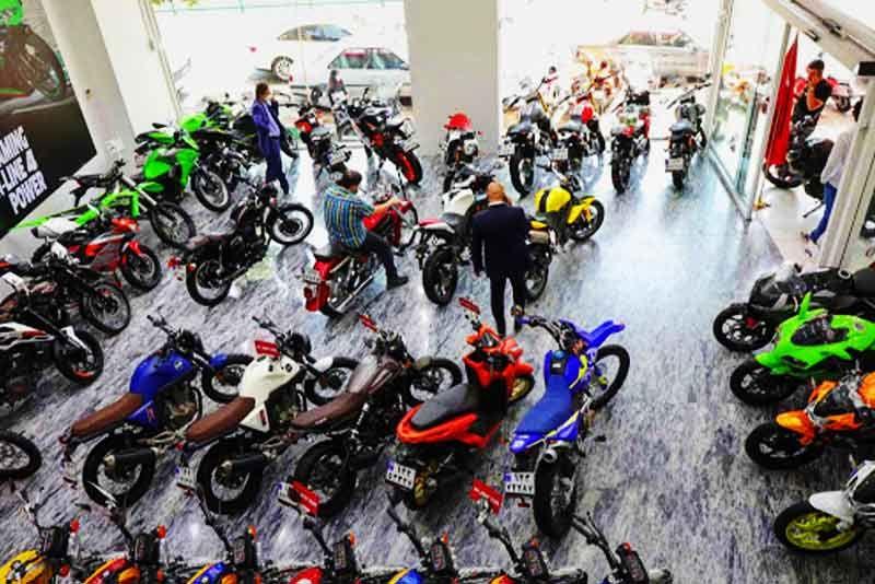 گمرک ، بورس موتور سیکلت در کشور